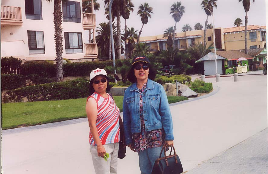 mary, tering pombo-baltazar in long beach,claifornia, personal files